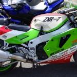moto kawasaki sportive 1990