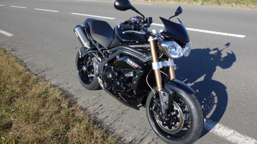Speed Triple Triumph Rennes 2013
