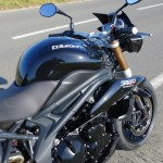 moto speed triple triumph Rennes