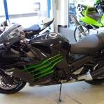 moto kawasaki moto shop 35 à Rennes