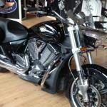 Vision en street : moto Victory Rennes