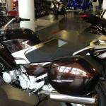 moto FJR sans top case