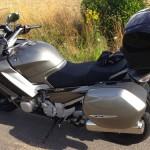 FJR moto confortable