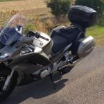 moto routière yamaha FJR 1300 à Rennes