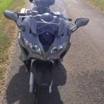 Tête de fourche du FJR moto routière Yamaha