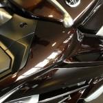 superbe couleur chocolat brun foncé pour le FJR 2013