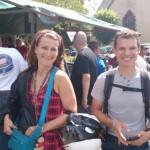 Magda et David à Porcaro, heureux !