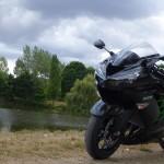 Moto Kawasaki de David Jazt (ZZR)