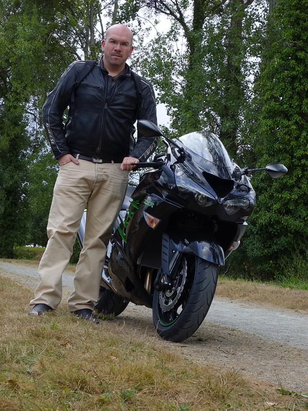 David Jazt et son ZZR 1400
