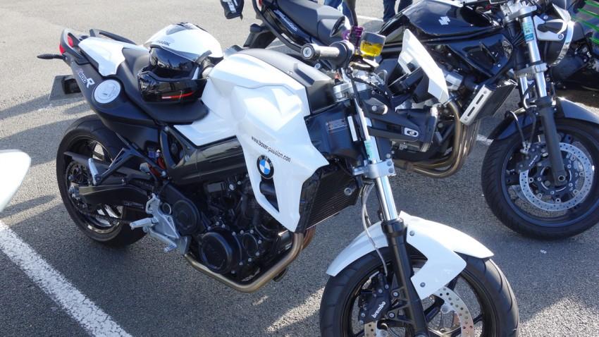 BMW F800R de Magdalena