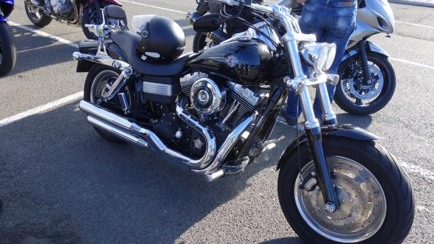 Fat Bob Harley Davidson Prte de Bretagne de Yann (St Malo)