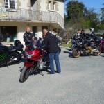 bain de bretagne : arrêt moto pour les motards rennais