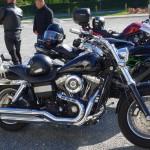 Harley Davidson qui n'appartient pas à David Jazt de Rennes