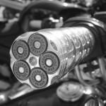 poignée de Harley Davidson (Paris)