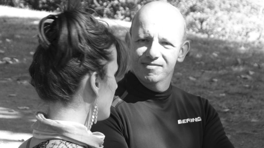 Magda et Régis, motards Rennais