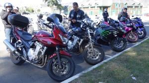 moto et motard rennais