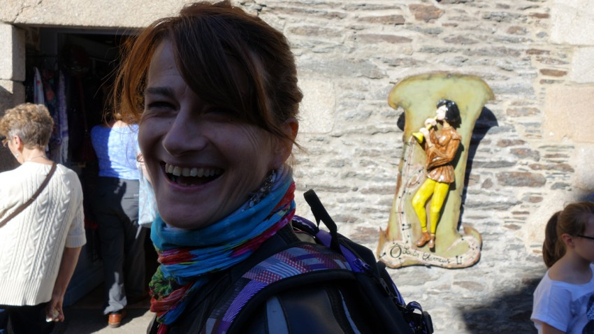 Magda, adorable motarde Rennaise