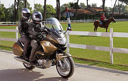 Conduire une moto lourde