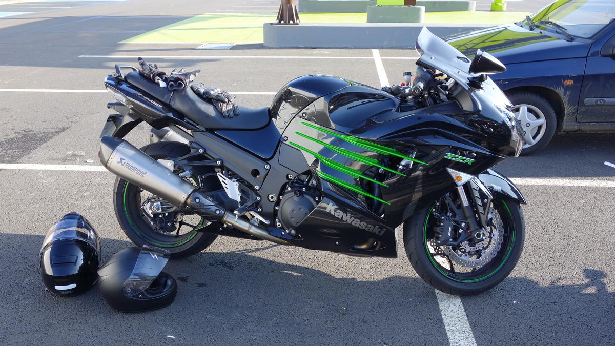 ZZR Kawasaki de David Jazt