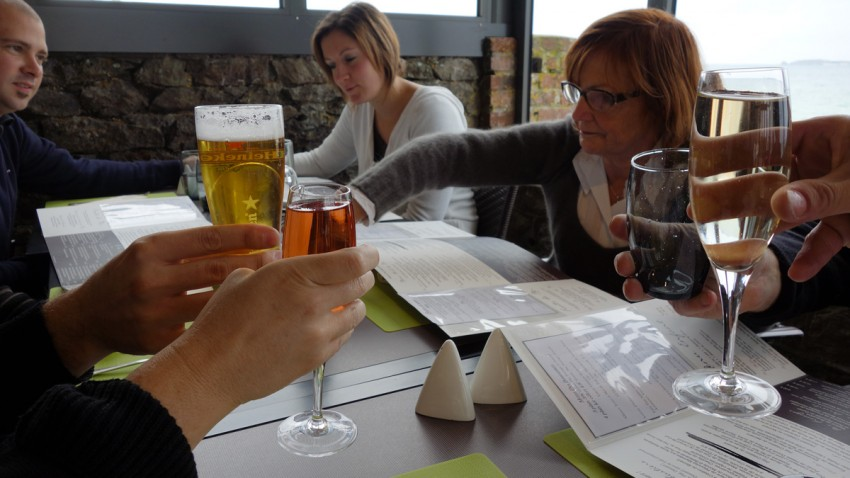 ambiance restaurant Antinéa St Malo