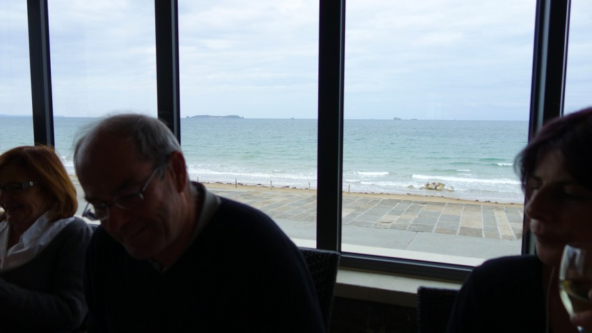 restaurant vue mer à l'Antinéa