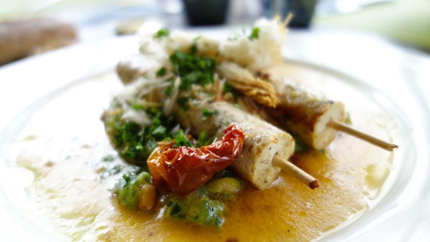plat au restaurant Antinéa de Saint Malo