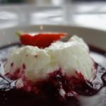 dessert au restaurant Antinéa de Saint Malo