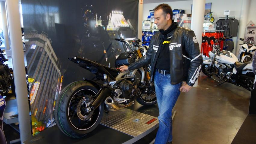 Motard Rennais chez Yamaha