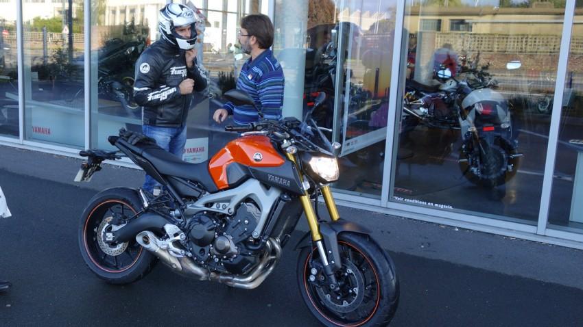 essai moto par Jean-Claude : MT 09