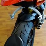 garde boue arrière du MV Agusta Rivale