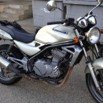 Kawasaki ER5, moto école et jeune permis