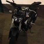 MT09 Yamaha à Rennes grise