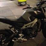 moto MT 09 à Rennes