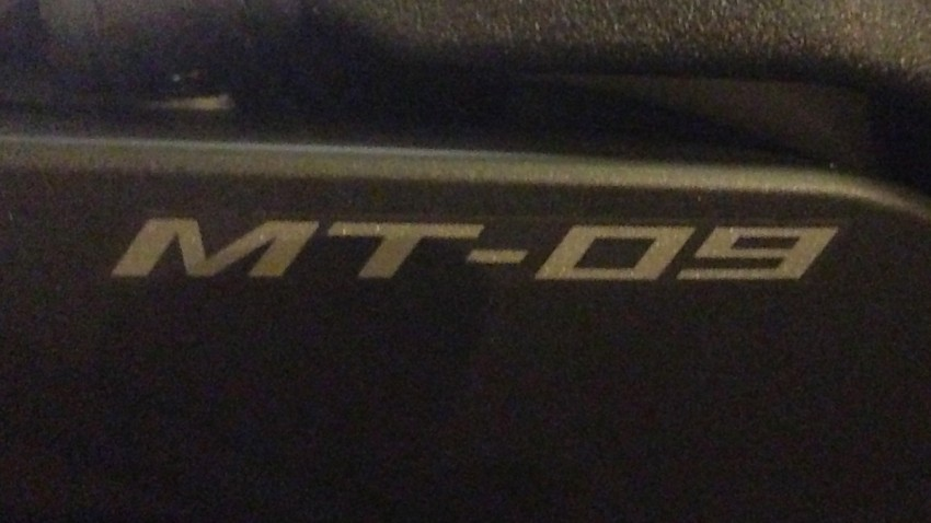 moto MT 09 à Rennes, planète Yam