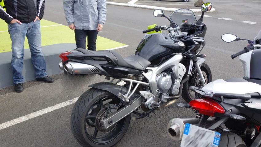 Yamaha FZ6 S2 de Christophe