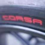 Corsa : pneu moto