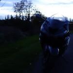 essai moto de nuit