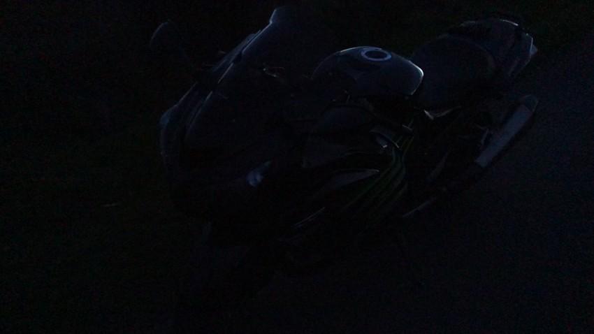 moto de nuit : essai à Rennes et on voit rien
