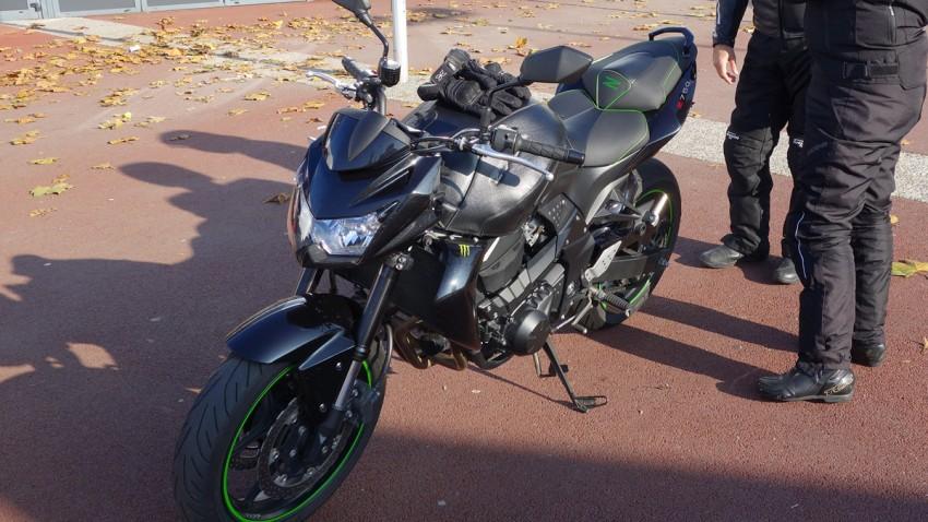 Kawasaki Z750 d'Arnaud