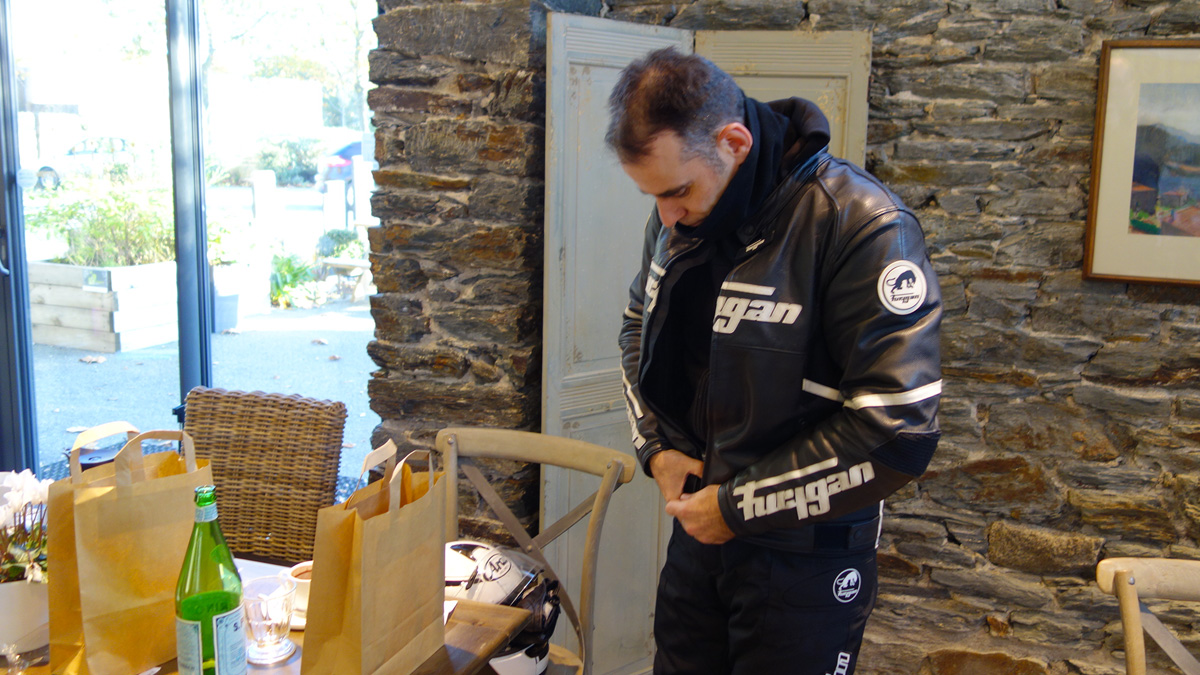 Jean-Claude, motard Rennais
