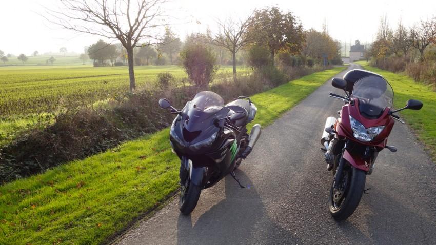 comparatif moto ZZR 1400 et Bandit 650