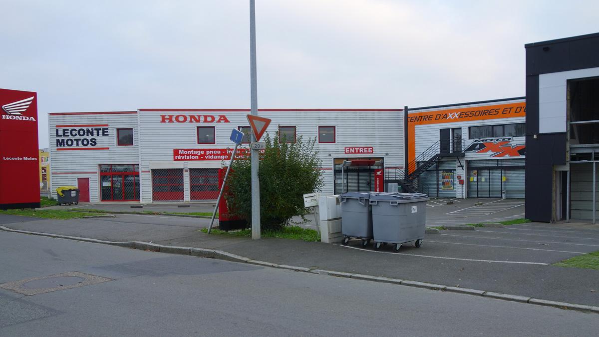 Honda moto à Rennes, Leconte cycle