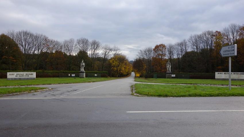 école militaire de Saint Cyr près de Beignon