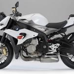 moto BMW S 1000 R 2014 blanche