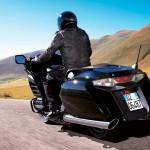 balade moto à bord du F6B Honda