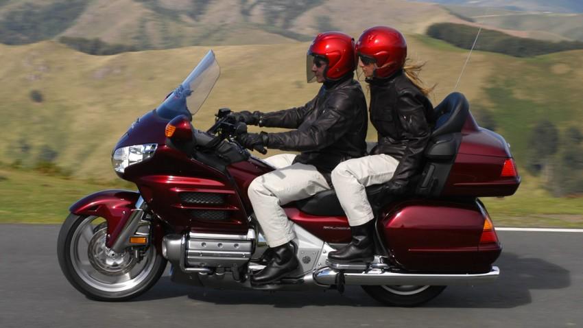 Goldwings moto honda et son V6