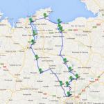 balade moto de David à Rennes