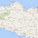 roadbook balade moto au départ de Rennes