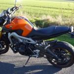 MT 09 orange