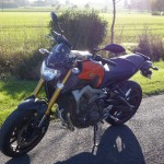 moto yamaha roadster à rennes